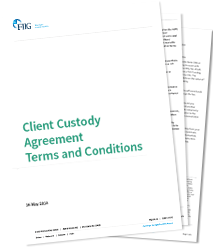 Client Custody Agreement Terms and Conditions