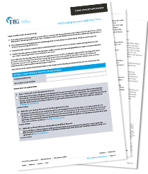 FIIG Funding Details Form - PDF download